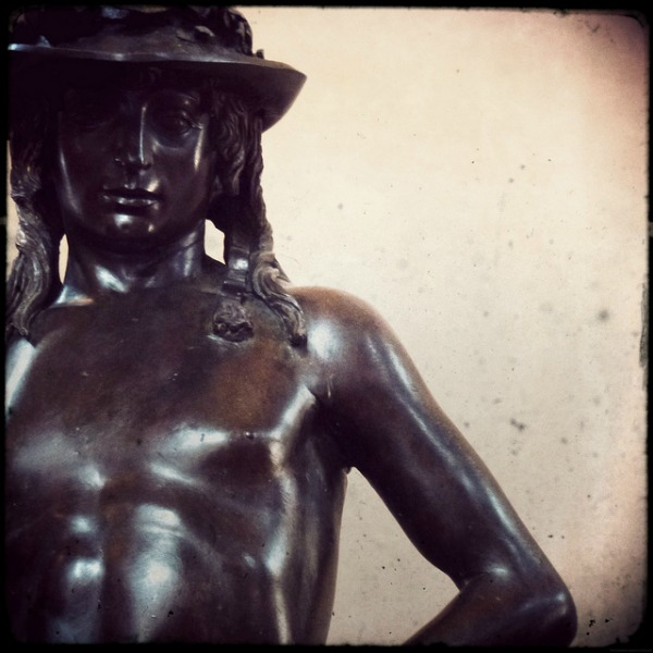 Detail of Donatello's David in the Bargello || creative commons photo by Alessandro Bonvini